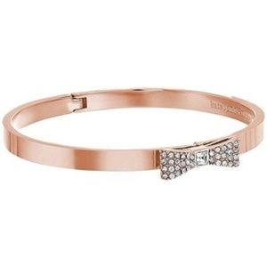 Kate Spade Ready Set Bow Rose Gold Bangle Bracelet